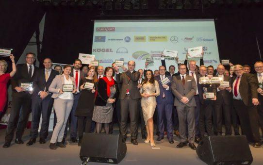 Europäischer Transportpreis für Nachhaltigkeit 2018: Gewinner stehen fest