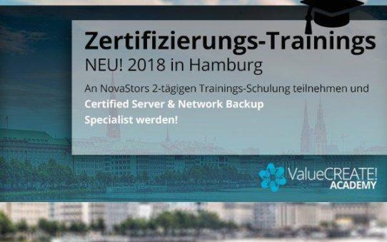 NovaStors ValueCREATE! Academy bildet IT-Händler zu Backup-Experten aus
