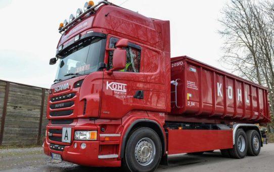 Kohl Logistic setzt auf Flexibilität und Verlässlichkeit von Trimble-Lösungen