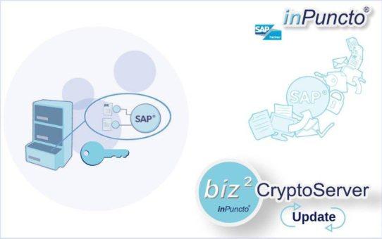 Sicherer und flexibler: inPuncto Verschlüsselungssoftware erhielt ein Update