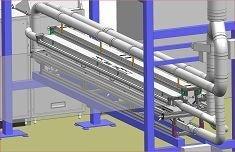 Weltweit einzigartig - 3,8 m breite WEKO-Pudersysteme an Folien-Extrusionsanlagen installiert