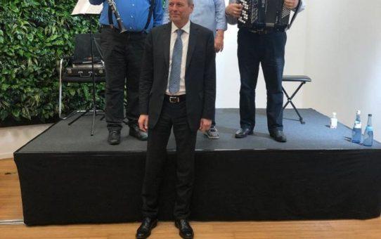 Eroeffnung Firmengebaeude Schultheiss Wohnbau AG Nuernberg
