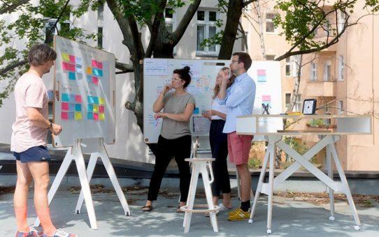 Analoge Whiteboards aus Berlin fördern die Digitalisierung in Unternehmen