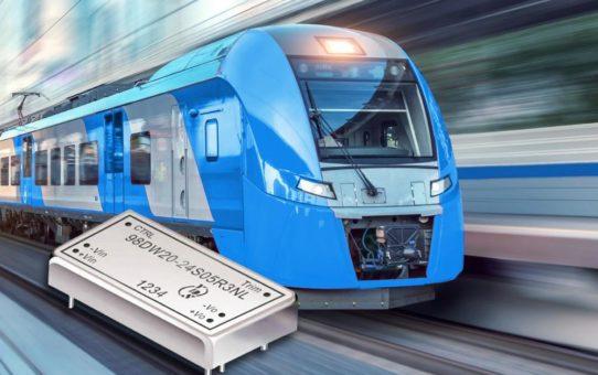 DC-DC Wandler für Anwendungen in der Bahntechnik