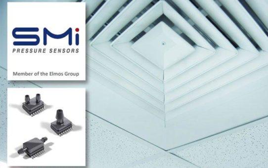 Elmos: Neuer SMI-Niedrigdrucksensor für industrielle und medizinische Anwendungen
