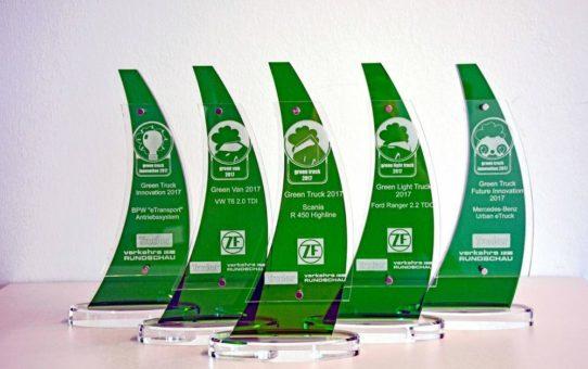 Umweltranking: Scania, Volkswagen und Ford auf Platz 1. BPW und Mercedes-Benz gewinnen Innovationspreis