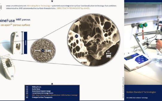 Deutsches Medizintechnik-Start-up stimOS setzt neue Maßstäbe bei Implantatoberflächen und Beschichtungstechnologien