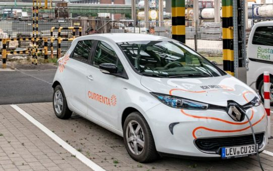 Currenta hat grüne E-Mobilität im Fokus