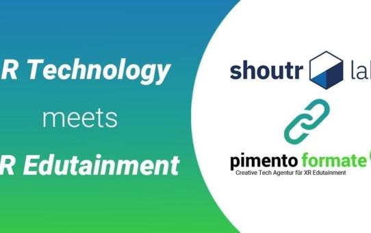 XR-Unternehmen pimento formate und shoutr labs schließen strategische Partnerschaft
