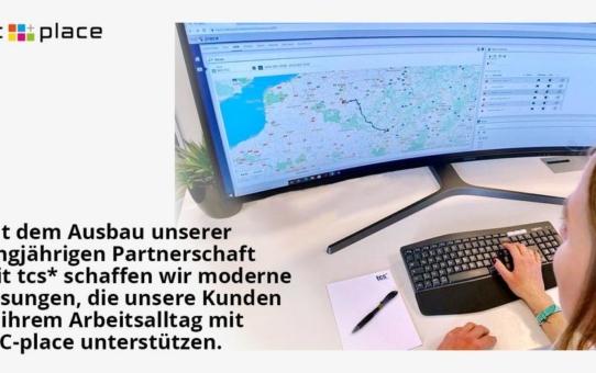 Neuer tcs* Service bietet spontane ad-hoc Transportüberwachung für NIC-place Kunden