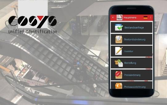 Smartphones und COSYS POS Software für den Einzelhandel