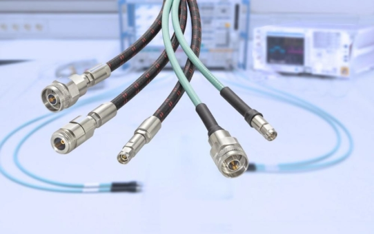 Microwave-Kabel-Assemblies bis 110 GHz