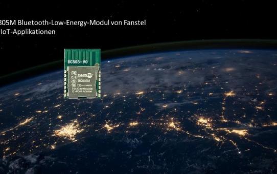 Kompakt, stark und sehr günstig - brandneues Bluetooth-Low-Energy-Funkmodul BC805M