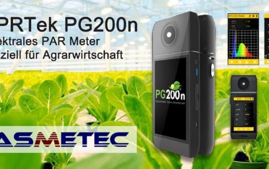 Das neue Spektrometer PG200N von UPRTek