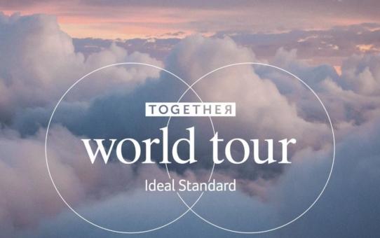 """Eine Reise in die Welt des Designs - Ideal Standard legt mit der """"Together World Tour"""" eine hybride Veranstaltungsserie auf"""