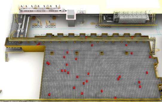 Dematic installiert AutoStore®-Anlage im neuen Service Center Europe von Trelleborg Sealing Solutions