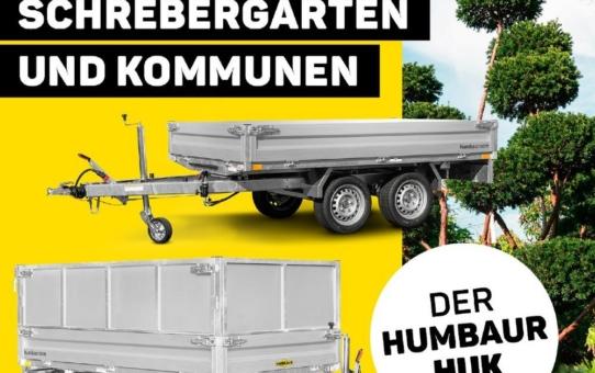 Ideal für Garten, Schrebergarten und Kommunen - der Humbaur HUK
