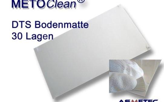METOCLEAN DTS-Bodenmatten – 300 Reinigungslagen in einer preiswerten Verpackungseinheit
