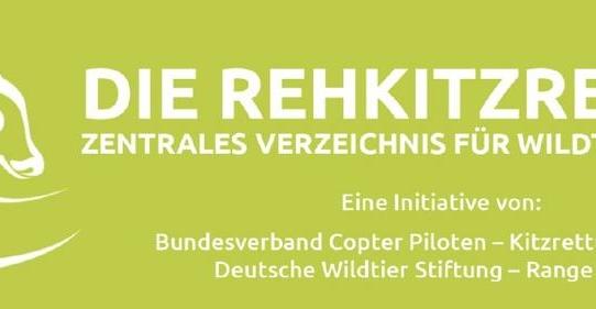 """Größtes Zentrales Verzeichnis von Wildtierrettern geht unter dem Namen """"Die Rehkitzretter"""" an den Start!"""