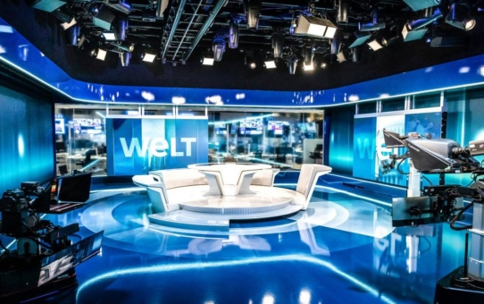 ARRI stattet hochmoderne TV-Studios von WELT mit vollständig auf IP basierter Lichttechnik aus