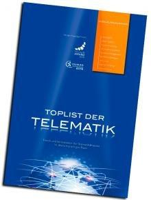 """Druckfrisch: Die neueste Ausgabe der """"TOPLIST der Telematik"""" zum großen Award-Jubiläum!"""