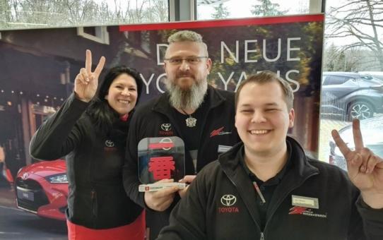 Drei deutsche Toyota Händler erhalten Preis für herausragenden Kundenservice