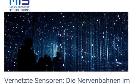 Vernetzte Sensoren - Die Nervenbahnen im Internet der Dinge