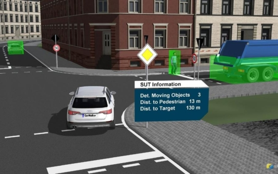 Autonomes Fahren in der Stadt: Mit Simulation auf Nummer sicher