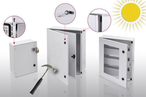 Polysafe-Gehäuse: vandalensicher und maximal korrosionsfest