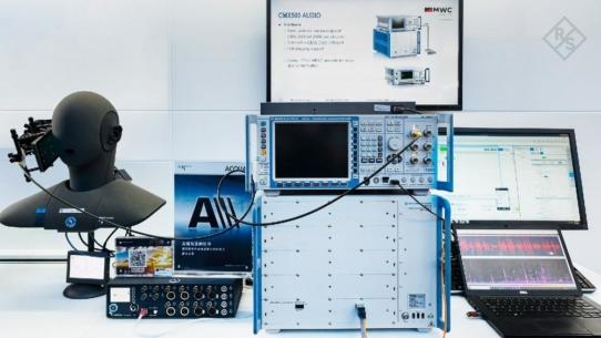 Rohde & Schwarz und HEAD acoustics demonstrieren Testlösung für 5G-Sprachdienst Voice over NR (VoNR)