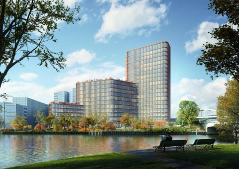 Graft Brandlab gestaltet die Arbeitswelten für den neuen DKB Campus in Berlin