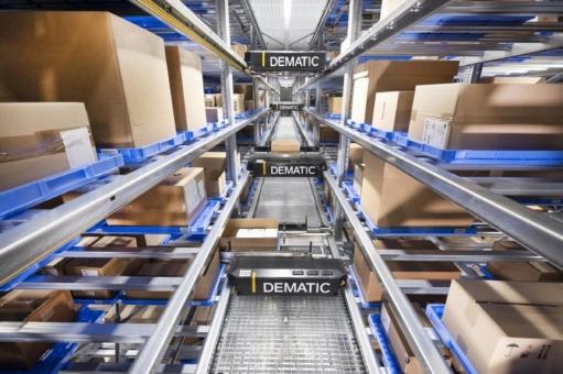 Dematic automatisiert neues Logistikzentrum von IVF HARTMANN