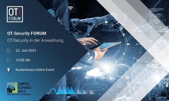 OT-Security Forum - OT-Security in der Anwendung (Vortrag | Online)