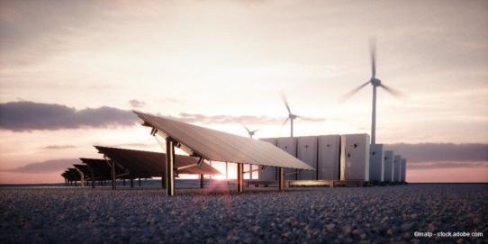 Wie erneuerbare Energien bedarfsgerecht gespeichert werden können