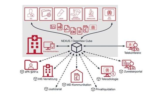 Premiere für NEXUS / DeepView Cube: ein Archiv und unzählige Möglichkeiten