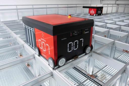 Dematic installiert AutoStore®-Anlage bei Hersteller für Gebäudekommunikation Siedle