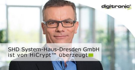 digitronic HiCrypt™ jetzt auch bei SHD im Einsatz