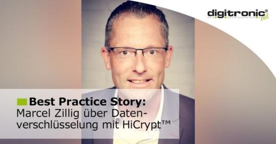 Mit HiCrypt™ sensible Daten sicher verschlüsseln
