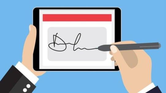 Mit der elektronischen Unterschrift in der Unternehmenssoftware iscrm verbindet die infosense GmbH die analoge Geschäftswelt mit der digitalen