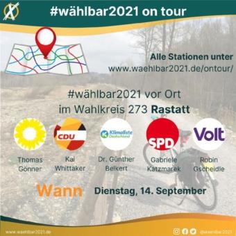 Wie stehen die Bundestags-Kandidaten in Rastatt zu konkreten Klimaschutzmaßnahmen?