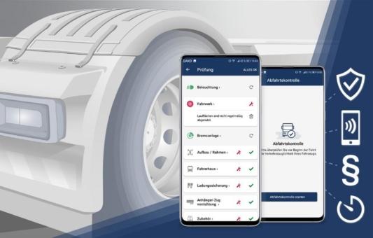 DAKO stellt mobile Abfahrtskontrolle vor