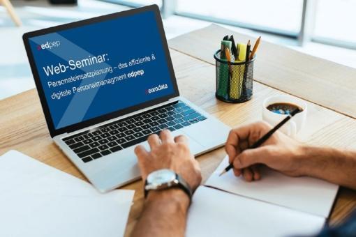 Personaleinsatzplanung – das effiziente & digitale Personalmanagement  edpep (Webinar   Online)
