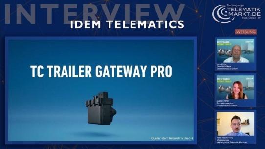 Telematik-Flaggschiff von idem telematics: Mehr Schnittstellen, mehr Fahrzeugbereiche mit dem TC Trailer Gateway Pro